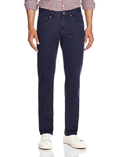 Pepe Jeans Men's Casual Trousers (8903872571727_LEN_32W X 34L_Dark Navy)
