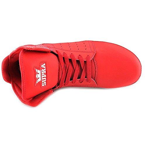 Supra Atom, Unisex-Erwachsene Hohe Sneakers Rot