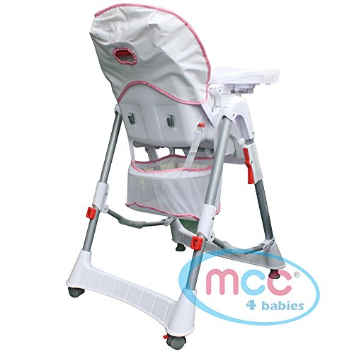 MCC Green Multifunctional Foldable Baby High Chair Highchair with Free Bib