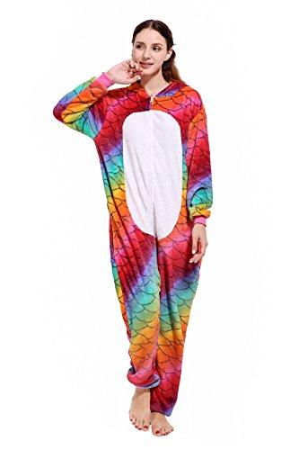 misslight-Unisex-Adult-Unicorn-Pajamas-Cosplay-Costume-Animal-Nightwear-Flannel-Novelty-Halloween-Chrismas-Daily-Clothes