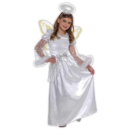 M Mädchen Engel Kostüm für Weihnachten Fancy Dress -