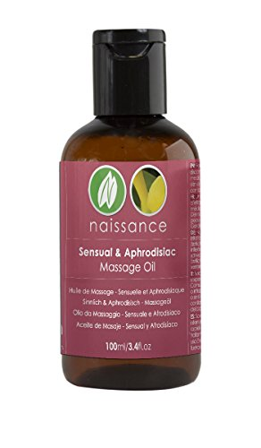 Naissance Sensual and Aphrodisiac Massage Oil 100ml 100% Natural