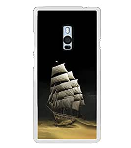 Fiobs Designer Back Case Cover for OnePlus 2 :: OnePlus Two :: One Plus 2 (Ship Mask sea Ocean Nature )