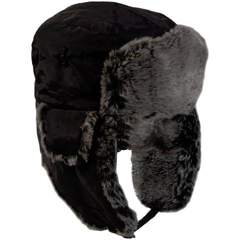 Ultrasport Aviador - Gorra invernal unisex, color negro, talla L