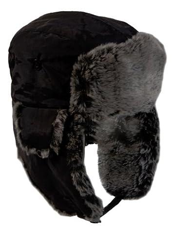 Ultrasport Bonnet pour hiver mixte adulte Noir