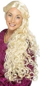 Perruque blonde guenièvre