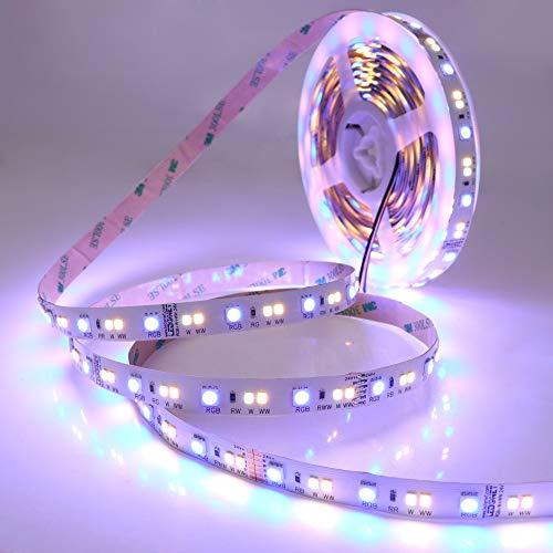 LEDENET Super Hell SMD 5050 2835 DC24V 120W 540LEDs RGB+Dual White RGB-CCT RGBW LED Stripe 5M(Nicht wasserdicht) Dual-white Led