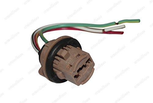 Preisvergleich Produktbild T20 7443 7440 W21 / 5 W LED HID Main High Nebelleuchten Leuchtmittel Universal Adapter Halterung Fassung Stecker Auto