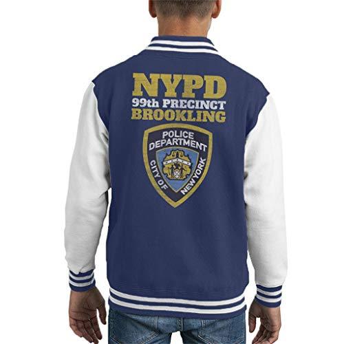 Cloud City 7 Brookling 99th Precinct Brooklyn Nine Nine Kid's Varsity Jacket