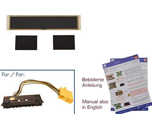 gearworks Display für 80/100/200/V8/A6 Tacho ATA/Außentemperaturanzeige