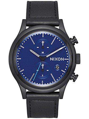 Preisvergleich Produktbild Nixon Station Chrono Leather