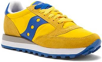 huge selection of really cheap first look Saucony Jazz Original Trainers - Yellow / Blue (UK 10): Amazon.co ...