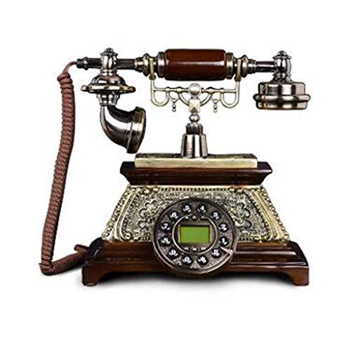 RMXMY Europäische antike Mode kreative Telefon Festnetz Retro-Sitz Typ altmodische antike antike Festnetz