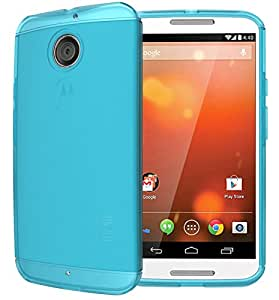 TUDIA Ultra Slim LITE TPU Bumper Protective Case for Motorola Moto X (2nd Gen 2014 Release ONLY) (Teal)