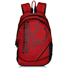 Adamson Sports red Laptop Backpack(ABP-042)