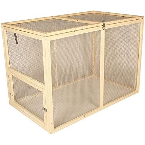 Pig Rabbit Run legno Guniea Ferret Tenda a rete, in Pet Mensola smontabile