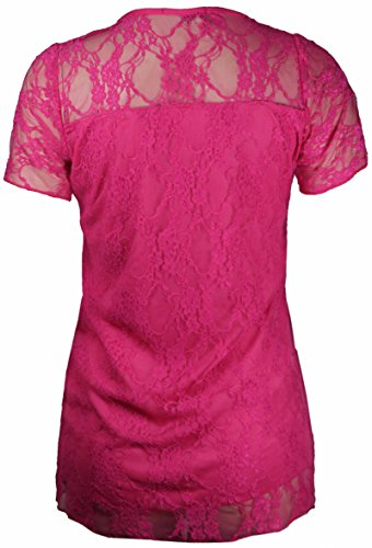 Purple Hanger - T-shirt -  Femme Rose - Cerise