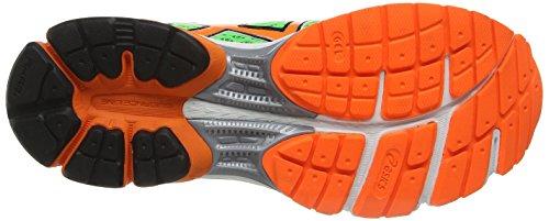 Asics Gel-Pulse 6, Chaussures de trail homme Vert (Black/White 9001)
