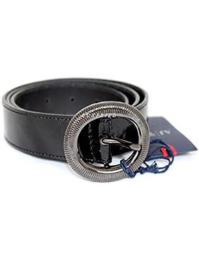 Armani Jeans Gürtel Damengürtel Belt Leder U5128 schwarz