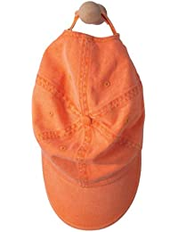 Anvil: Sandwich Trim Pigment-Dyed Twill Cap 166, Größe:One Size;Farbe:Tangerine