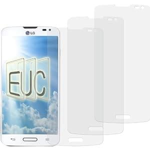 3 x Displayschutzfolie klar/wie unsichtbar für LG Optimus L70