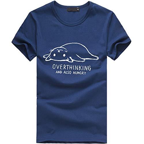 Netto-mädchen T-shirt (Watopi Frauen t-Shirt top Plus Size Print Tees Shirt Kurzarm Mädchen T Shirt Bluse Tops)