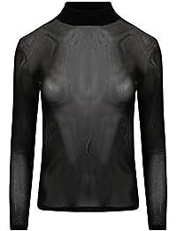 Generic - Top à manches longues - Chemise - Manches Longues - Femme noir noir