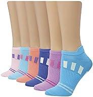 Hanes Women's PC401P X-Temp Performance Cool No Show Design Athletic Socks (Pack o