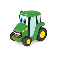 John Deere Push and Roll Johnny Tractor  Farm Vehicle Push Down Toy  Suitable From 18 Months