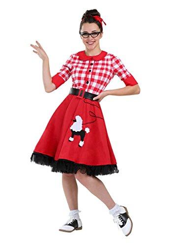 50's Darling Womens Fancy Dress Costume ()