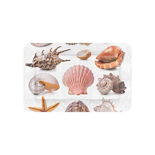 Sea Creature Unterwasser Shell Extra Große Individuell Bedruckte Bettwäsche Weiche Haustier Hundebetten Für Welpen Und Katzen Möbel Matte Cave Pad Cover Kissen Geschenk Lieferanten 36 X 23 Zoll -