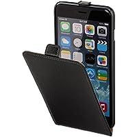 Hama Flip Case (für Apple iPhone 6 Plus (5,5 Zoll) Tasche, maßgefertigte Schutzhülle mit Magnetverschluss) schwarz