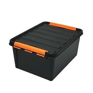Hammarplast 7332462024717 Boîte de rangement en plastique solide Clipbox SmartStore 14 l