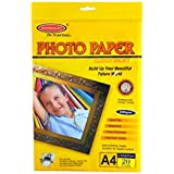 Bambalio B-BPG 230-20 Glossy Photo Paper, A4 Size, 230 GSM - Pack of 20