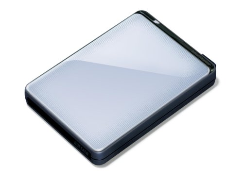 Buffalo MiniStation Plus HD-PNT500U3S-EU 500 GB Externe Festplatte (6,4 cm (2,5 Zoll), 7200 rpm, 8MB Cache, SATA, USB 3.0) silber -