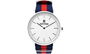 Ralph Pierre Bande Analog Multi-Colour Dial Unisex's Watch - W4003G2