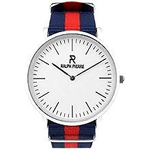 Ralph Pierre Bande Analog Multi-Colour Dial Unisex's Watch - W4003G2