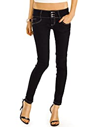 Bestyledberlin Damen Skinny Jeans, Slim Fit Röhrenjeans, enge Hüftjeans, Baumwoll Hosen j39f