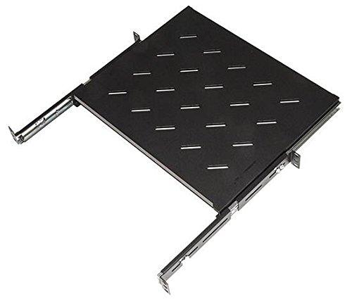 Link lkrip350en ripiano universale per armadio rack estraibile su binari telescopici 1 unità 350mm, nero