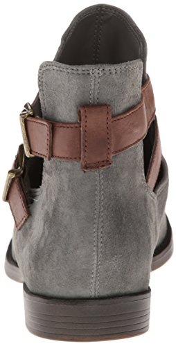 Bella Vita Raine Cuir Bottine Gravel Kid Suede/Amp Dark Brown Leather
