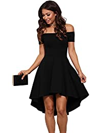 the latest d3e2c 7d8d5 Abito NERO elegante - Donna: Abbigliamento - Amazon.it