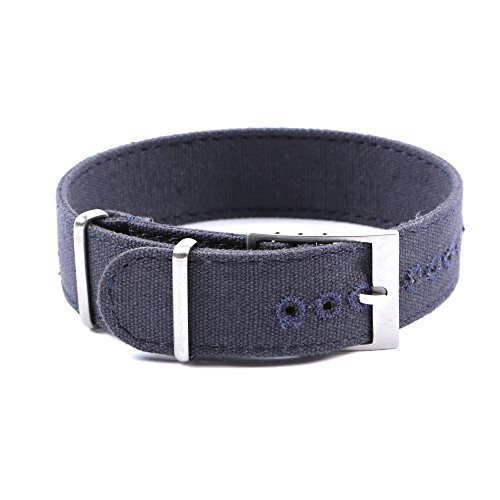 canvas-watchstrapson-style-20mm-navy-blue-stitched-holes