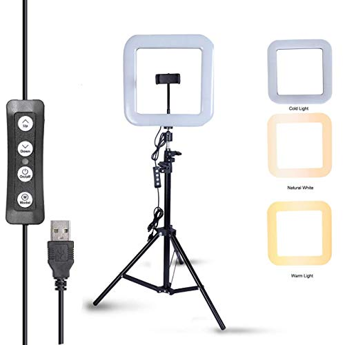 Zeecell 18 Inches Big LED Ring Light for Camera Smartphone for Video Shooting and Makeup with Stand