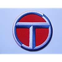 Honda Motorbikes/ /Motorsport Motorcycles Biker Patches/ /Iron On Patch/ /Silver Blue/ /Applique Embroidery Embroidered Badge Costume cadeau- Give Away /Motorbike/