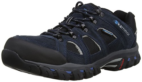 Bodmin IV Weathertite, Mens Low Rise Hiking Shoes, Grey (Black Sea), 11 UK (45 EU)Karrimor