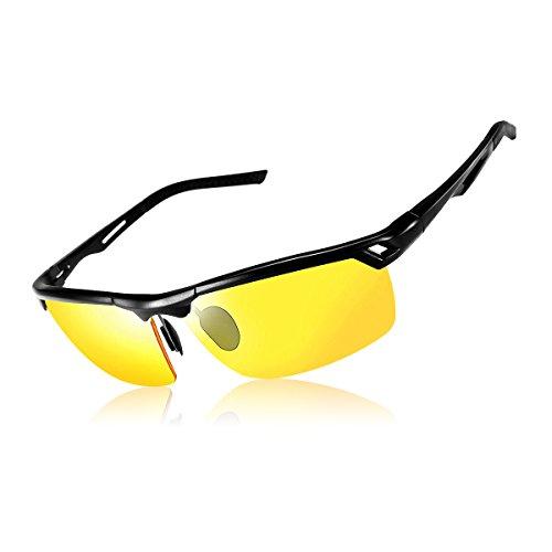 Pegas Unisex Polarisierte Radbrille Fahrradbrille Sonnenbrille - Outdooraktivitäten Sportbrille UV 400 für Damen und Herren ZPf8261