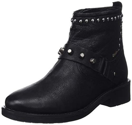 Pepe Jeans London Maddox Ring, Botas para Mujer, Negro Black 999, 36 EU