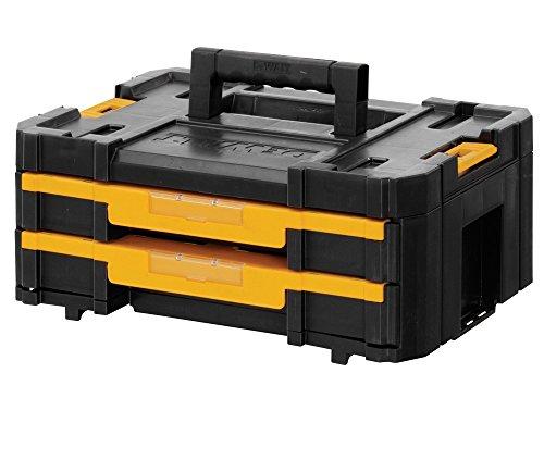 DeWalt DWST1-70706 DWST1-70706: Transportbox mit 2 Schubladen TSTAK Box IV (3-schubladen-werkzeug-box)