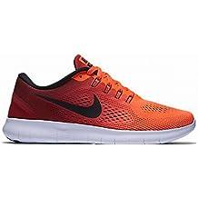 buy popular c2daf 468c1 Nike Damen Free Rn Laufschuhe Bianco