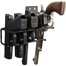 Boomstick Gun Accessories Boom-10021 4 Gun Handgun Vinyl Coated Pistol - Armero para armas de caza, color negro